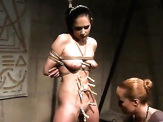 Matures Gets Her Slit Opened Up By Lezzy Katy Parker