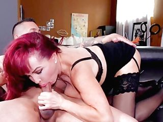 Matures Wonder Sexy Vanessa Works Out A Deal With Her Trainer