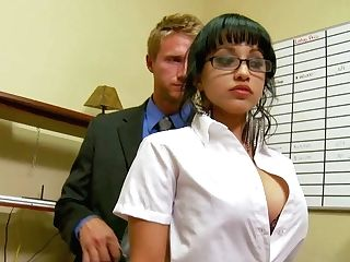 Abella Anderson Is Levi Cash's Fresh Flawless Boobed Assistant. She
