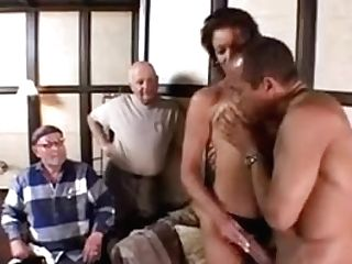 Spouses Observe A Wifey Suck And Fuck Another To See If They Want To Do It Too