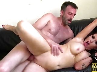 """toughly Fucked Sandy-haired Begging Master For Jizz In Mouth"""