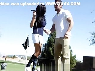Puremature - Audrey Bitoni Gets A Fuck-hole-in-one With Johnny
