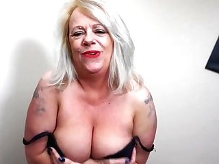 Big Booty And Big Titted Brit Mom Goes Wild