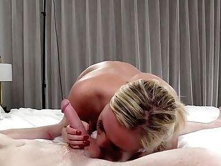 Blonde Deep Throat Immense Cum Shot Fa