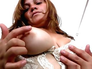 Latina Mummy Allison Needs A Getting Off Break From Cleaning