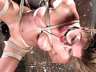 Ariel X & The Pope In Ariel X - Extreme Restraint Bondage, Brutal Torment, And Squirting Orgasms - Hog-tied