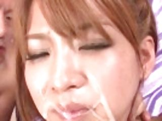 """""""ruru Kashiwagi Concludes With Jism On Face After Severe Fucking"""""""