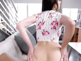 Lexi Luna Goes Wild As She Rails Stepsons Dick