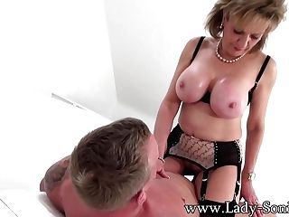 Lady Sonia Fucked Hard On The Couch - Ladysonia