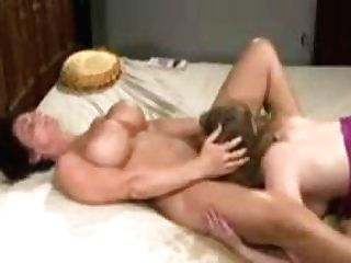 Mom Squirts In Daughters-in-law Mouth Hot