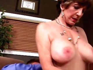 Lusty Granny Fucked In The Asshole