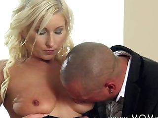 Incredible Porn Industry Star In Fabulous Hd, Cougar Pornography Clip