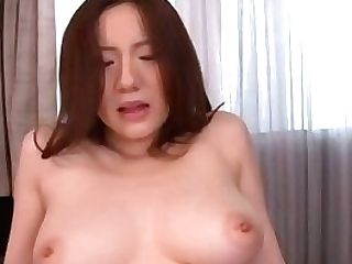 Japanese Housewife With Big Natural Tits Gets Fucked