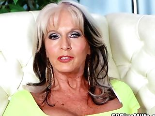 The Sally D'angelo Interview And Fuck Clothes Demonstrate - Sally D'angelo - 50plusmilfs
