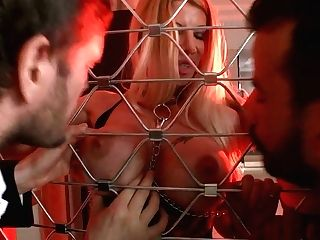 Captivating Hooker Cathy Heaven Gets Dual Penetrated In Hot Four Way Clip
