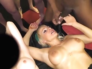 Tara Spades And Jasmine Lau - Gang-bang Loving Brit Honies Love A Good Fucking In This Hot Fucky-fucky Soiree