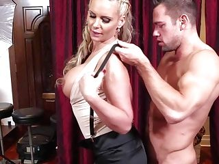 Intense Chested And Stunning Blonde Hotty Phoenix Marie Luvs In