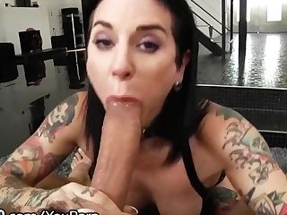 Throated Joanna Angel Gives The Best Filthy Bj's Ever!