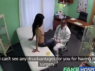Faux Hospital Squirting Mummy Wants Breast Implants
