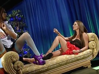Amazing Pornographic Stars Michelle Thorne, Krystal Webb And Sensuous Jane In Horny Big Tits, Underwear Pornography Movie