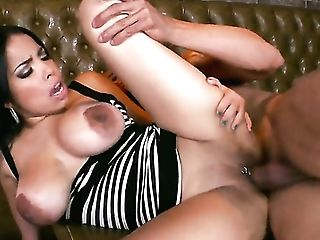 Chicana Havana Ginger With Big Hooters Gives Guys Rock Solid Dick A Attempt