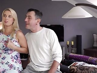 Daddy4k. Patriarch Fucks Mouth And Cunt Of Brilliant Sonny's Gf