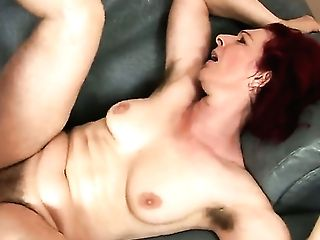 Horny Matures Debra Shows Her Hairy Cooch And Fucks Like A Crazy Bitch