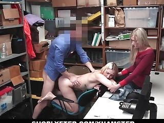 Shoplyfter - Youthfull Daughter-in-law Fucks Cop To Save Mom