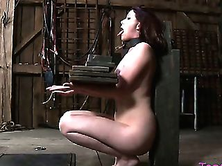 Sweet Dark Haired Chick Lila Katt Is Penalized By Her Mistress