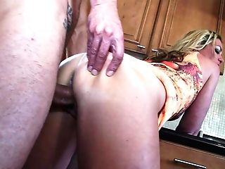 Slender Matures Bitch Sydney A In A Brief Sundress Gives