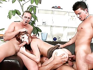 Fresh Neighbors Are Permitted To Pound Whorish Bootyful Ginger Wifey (fmmm)